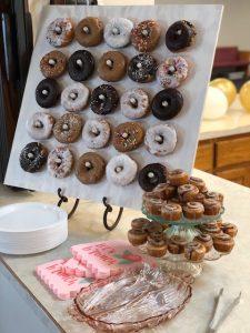 Donut Display Board